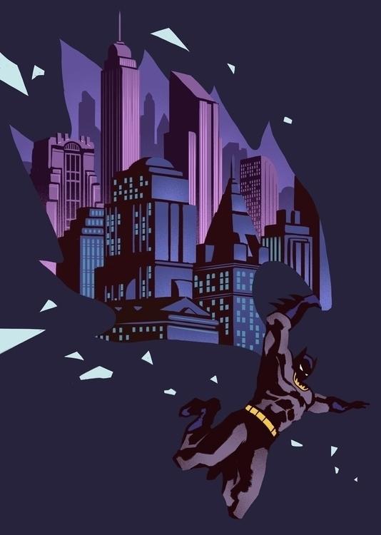 Batman: Animated Series Kris Mi - krismiklos | ello
