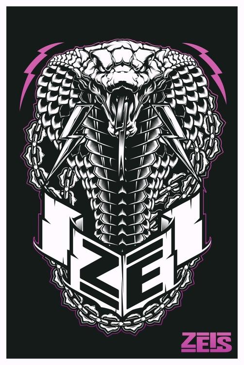 Cobra Vector Illustration. Adob - zeis-7669 | ello