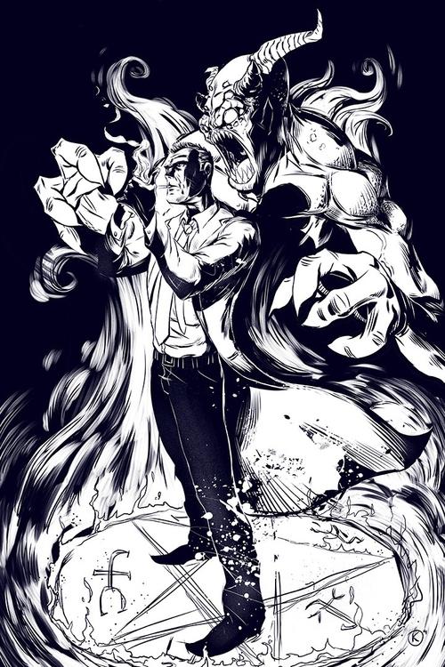 Constantine pin - constantine, comics - universek-1349 | ello