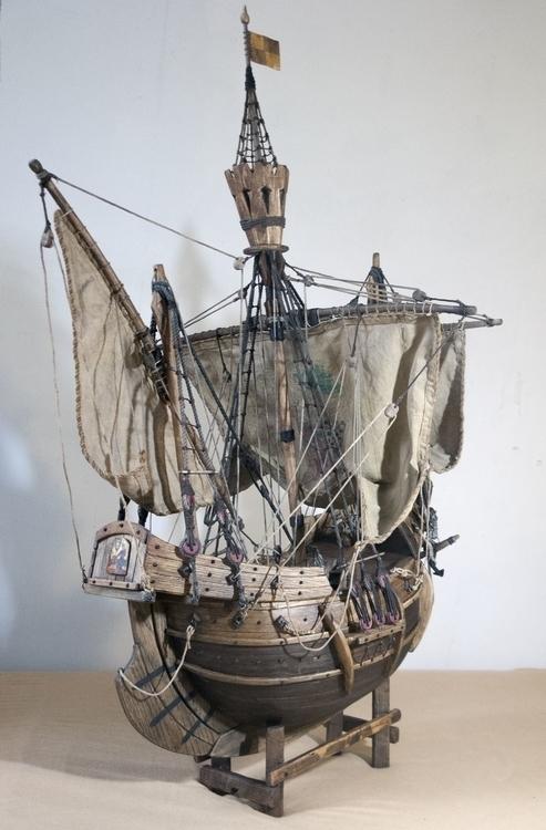 sculpture, model, ship - cyrill-9864 | ello