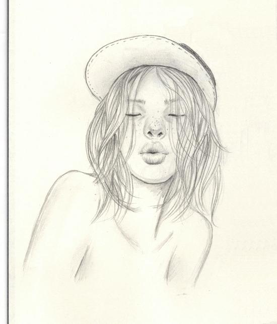 xx - kiss, doodle, drawing, sketch - j0eyg1rl | ello