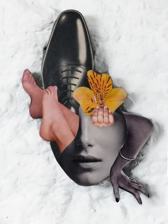 handmade, collage, artwork - rebeka_elizegi | ello