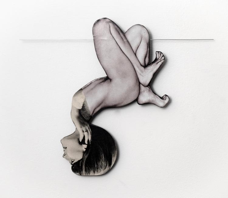 handmade, collage, artwork - rebeka_elizegi | ello