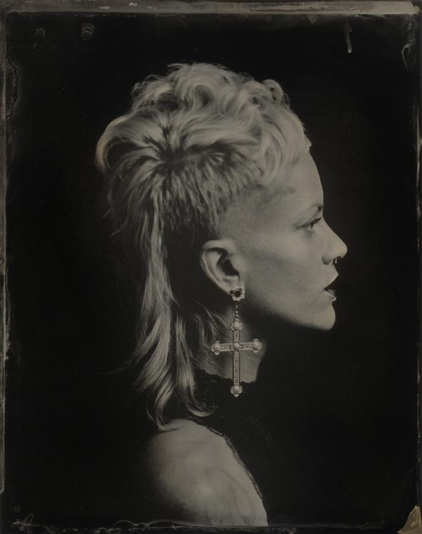 Kelsi - tintype, portrait, profile - lacunha | ello