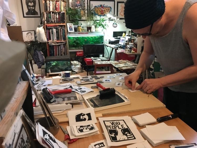 Studio - studio, art, makingart - jannesiltanen | ello
