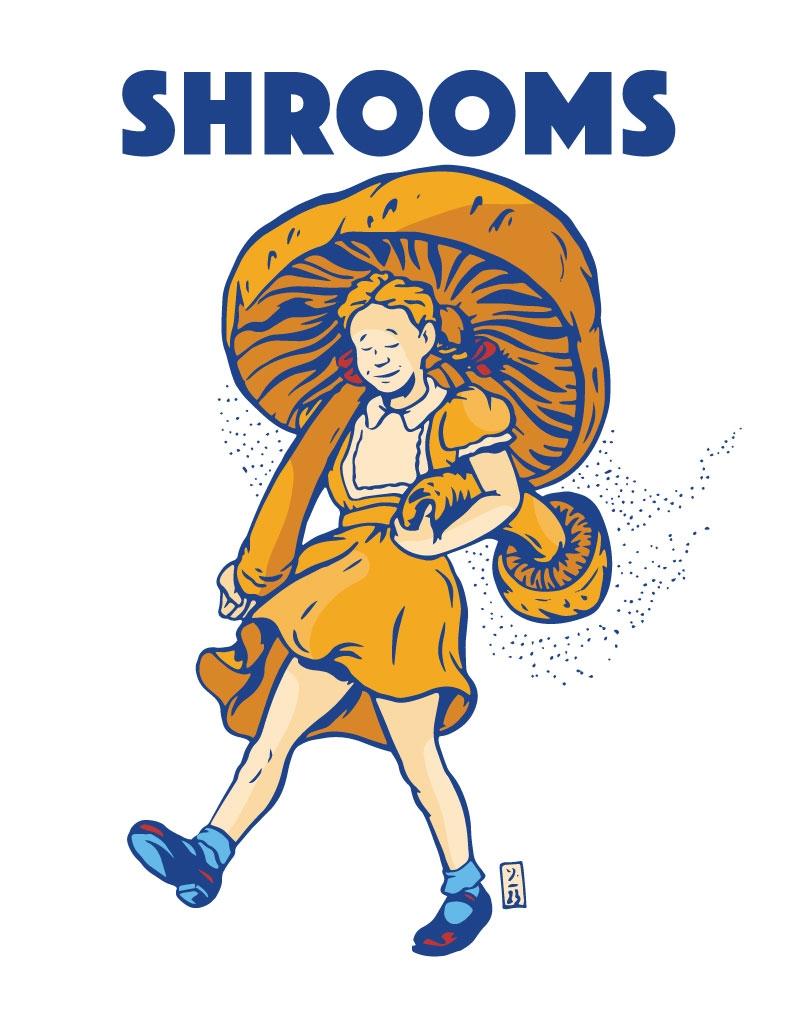 Shrooms - illustration - thomcat23   ello