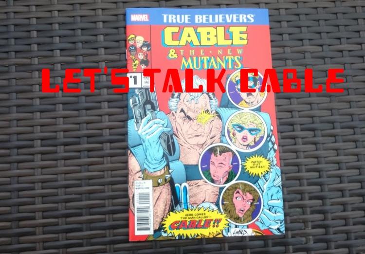 Talk Cable, Deadpool 2 True Bel - dinosaurboo | ello