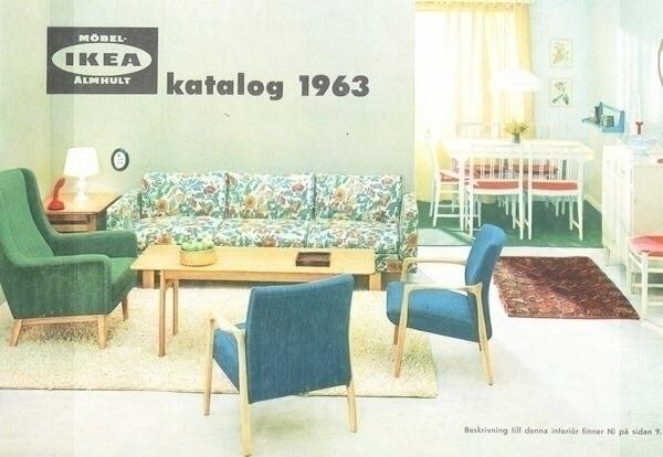 IKEA Catalogue Covers 1960-1969 - kidkyote | ello
