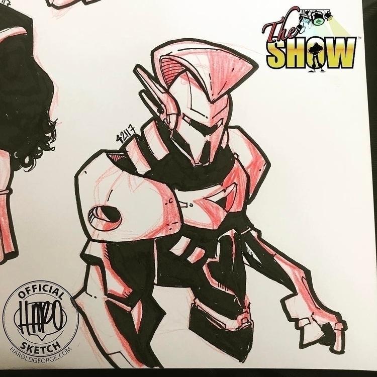 posted Instagram: Sketch 554 sk - haroartist | ello