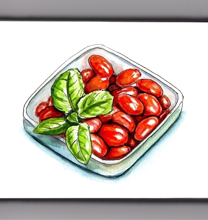 Perfect Ingredients - watercolor - doodlewash | ello