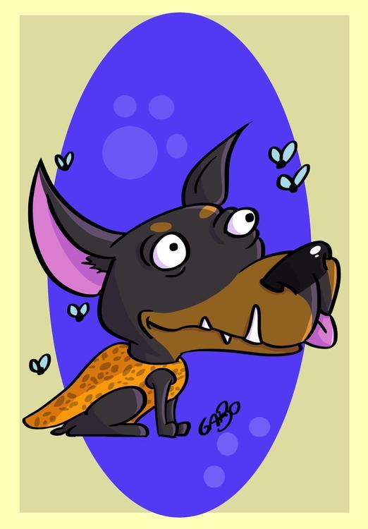 Illustration, dog - gabo_jurgensen | ello