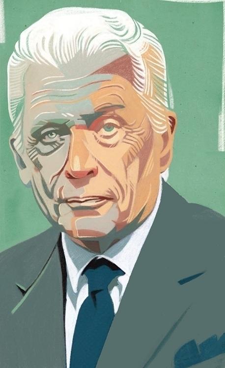 Portrait Gianluigi Gabetti Il S - canuivan | ello
