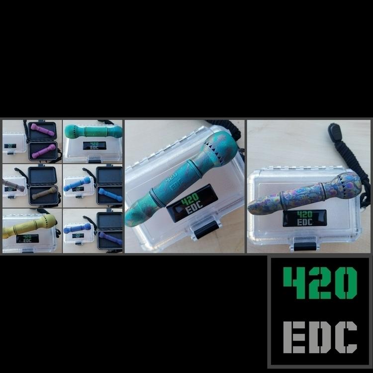 TiChillum 420EDC 3D Printed Tit - 420edc | ello