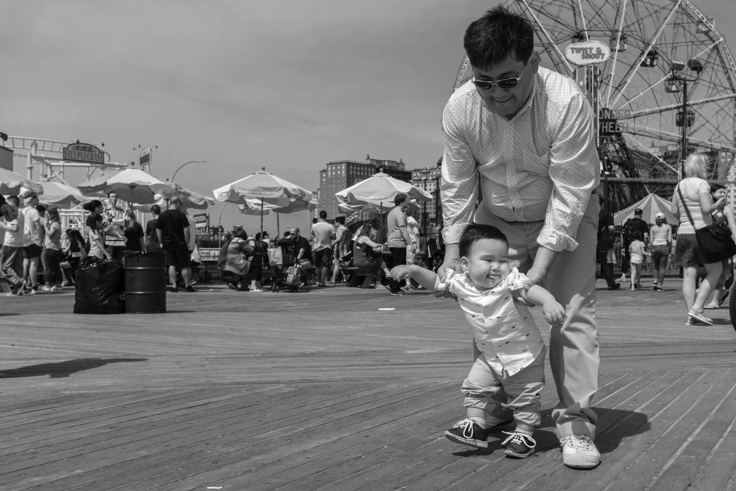 Baby Steps Coney Island, NYC - giseleduprez   ello