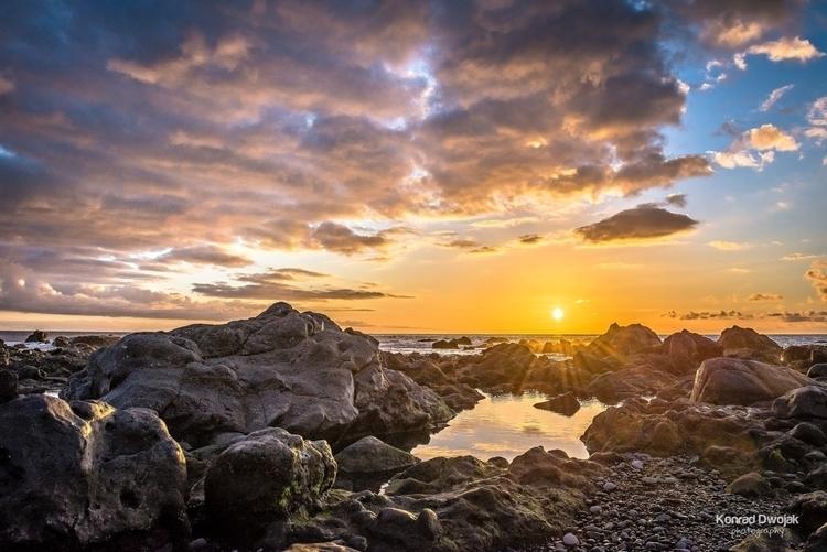 Sunset Valle Gran Rey (La Gomer - konradphoto | ello