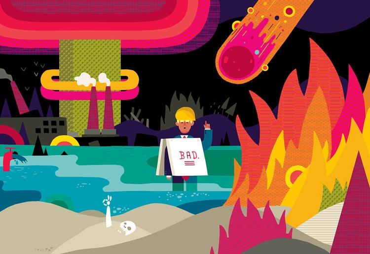 illustrations buzzfeed article  - ebencom | ello