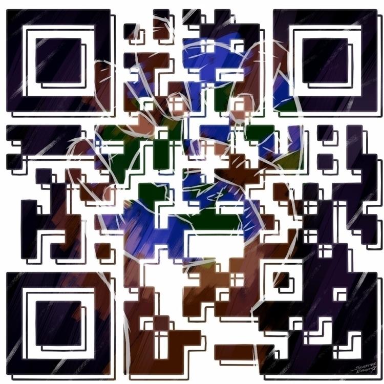 World - qrcode, qrart, qrcodes, originalcontent - sylverstone14 | ello