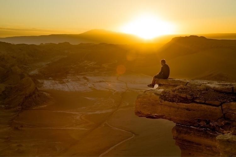 **Atacama Desert, Chile** Sunse - papa_delta | ello