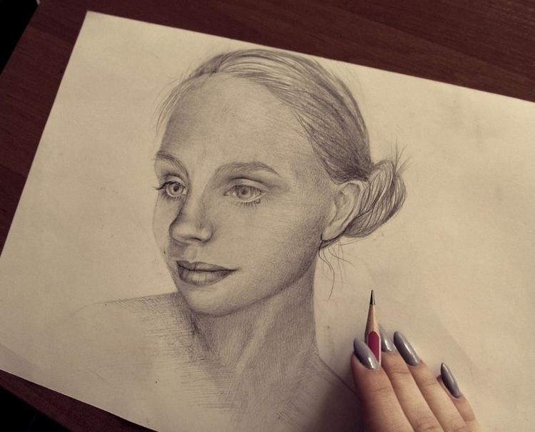 art, portrait - tricefoils | ello