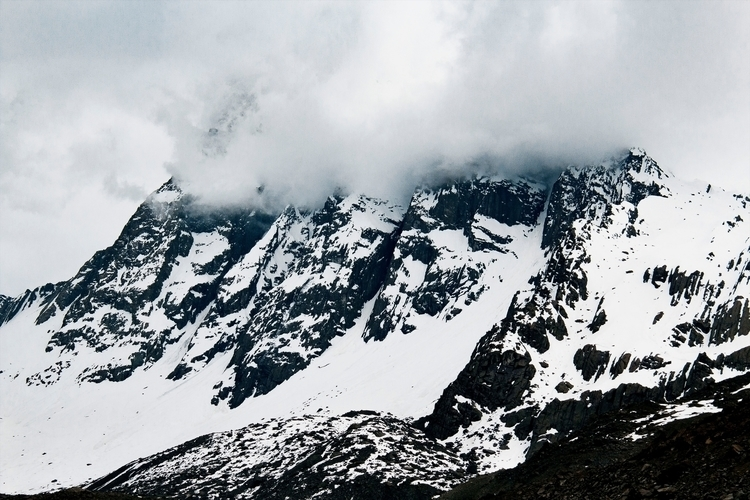 Cordillera de los andes - snow, mountains - fe-8 | ello