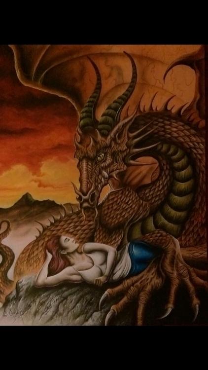 fantasy pieces book cover calle - stephencooney | ello