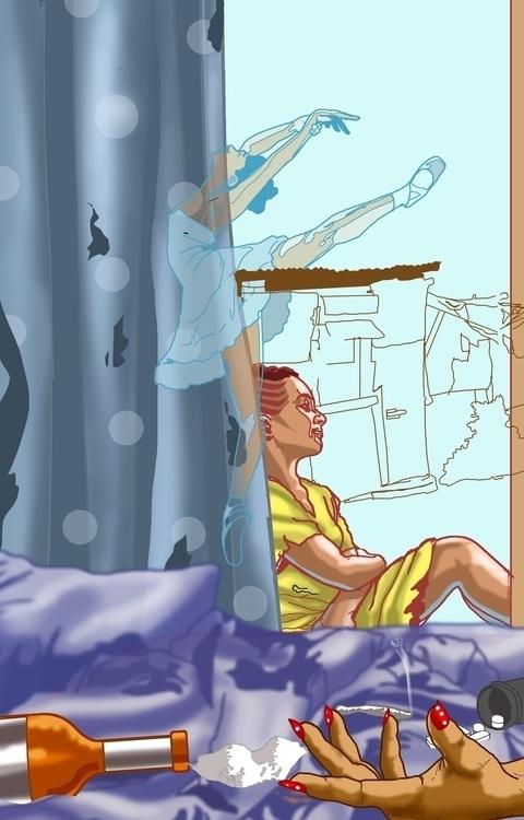 wishes fishes - illustration, coverart - sunnyefemena   ello