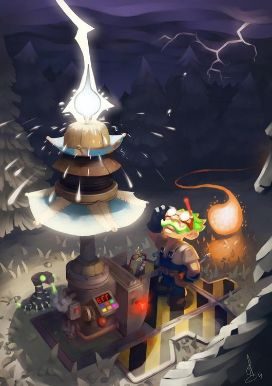 illustration, gameart, gnome - schoyhan | ello