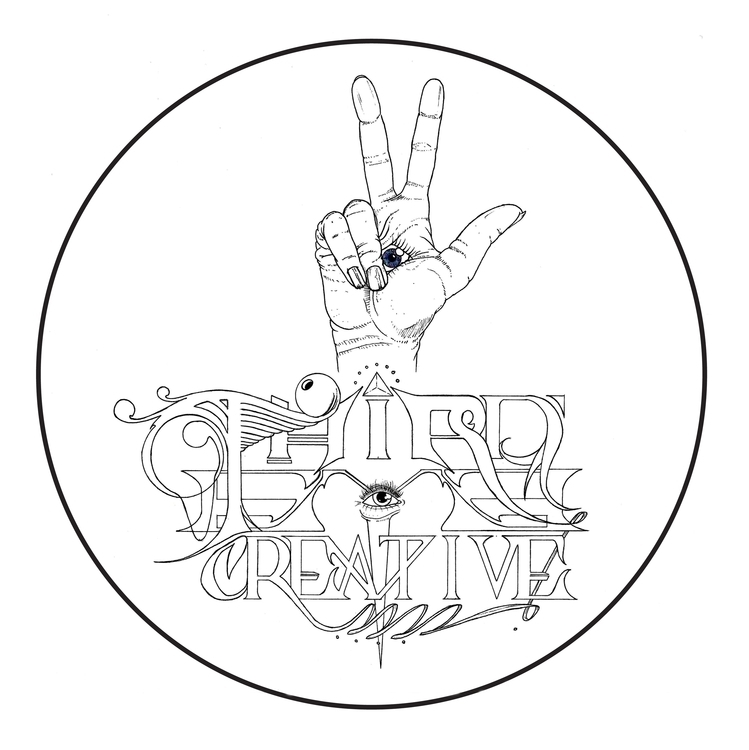 Eye Creative logo - illustration - thecreativefish | ello