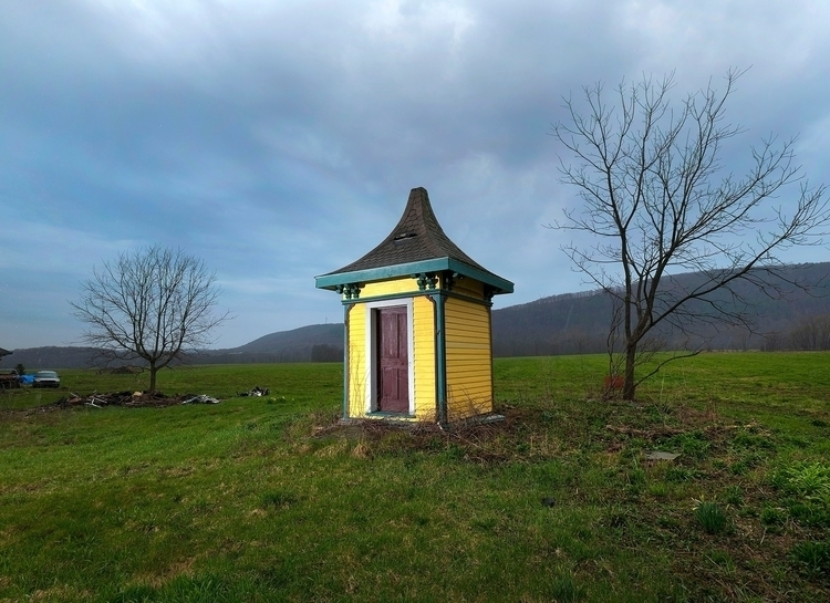 Victorian outhouse. Upstate Yor - keithbeaty | ello
