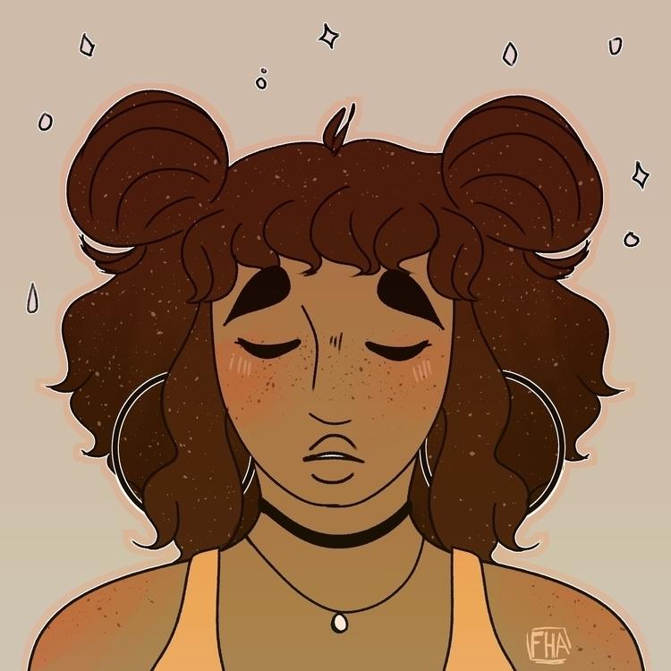 illustration, cartoon, girl - forestheartsarts | ello