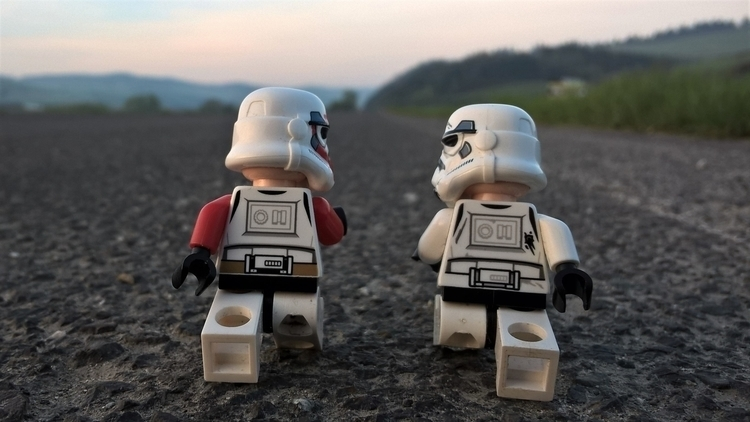 road., stormtroopers, starwars - chogall   ello