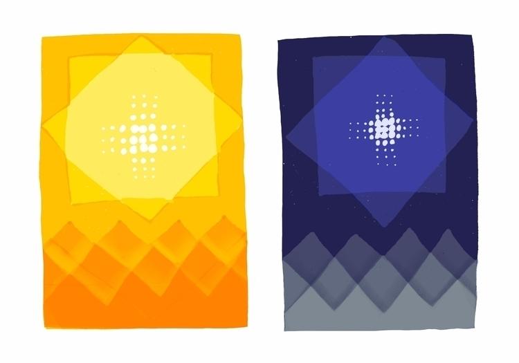 sun + moon (sketches - miriamdraws - miriamdraws | ello