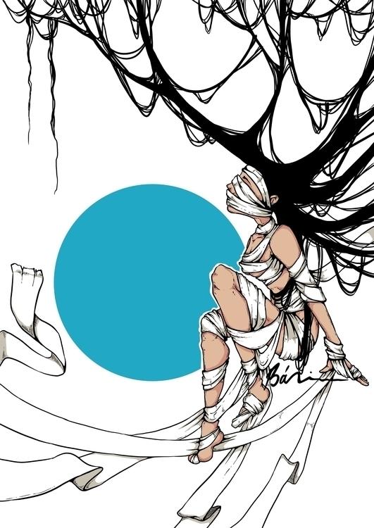 Latest digital illustration ser - moondustowl | ello