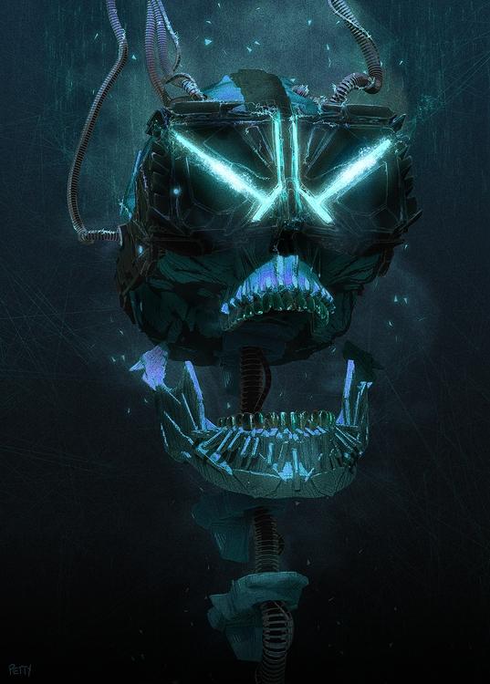 VR Skull - lpetty | ello