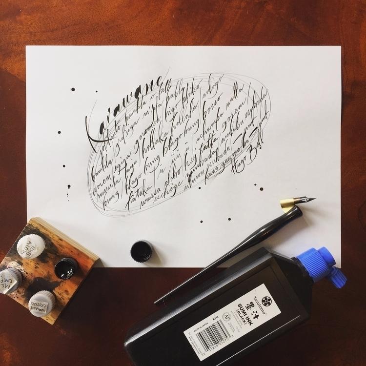 Poetry sense Karawane Hugo Ball - kleavens | ello
