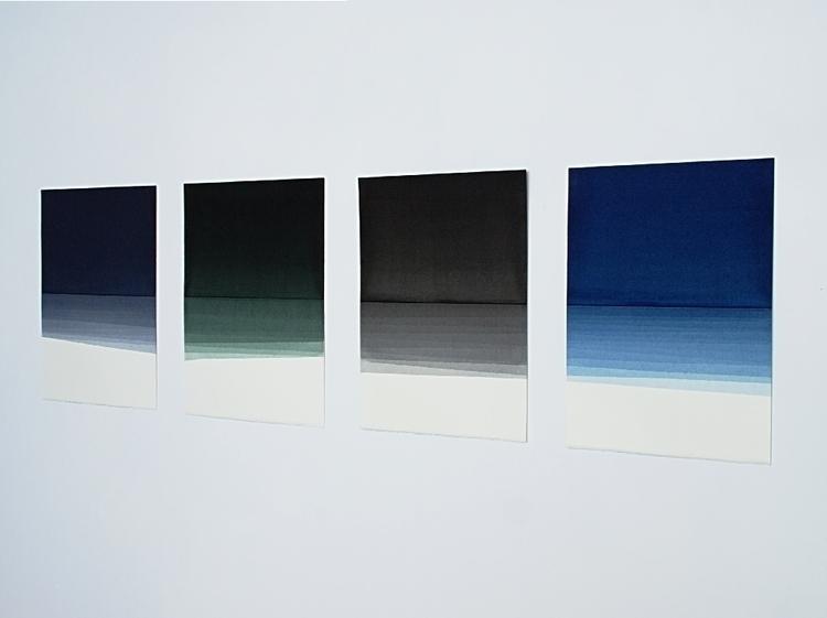 Ebb series installation view, w - michaelcraik | ello
