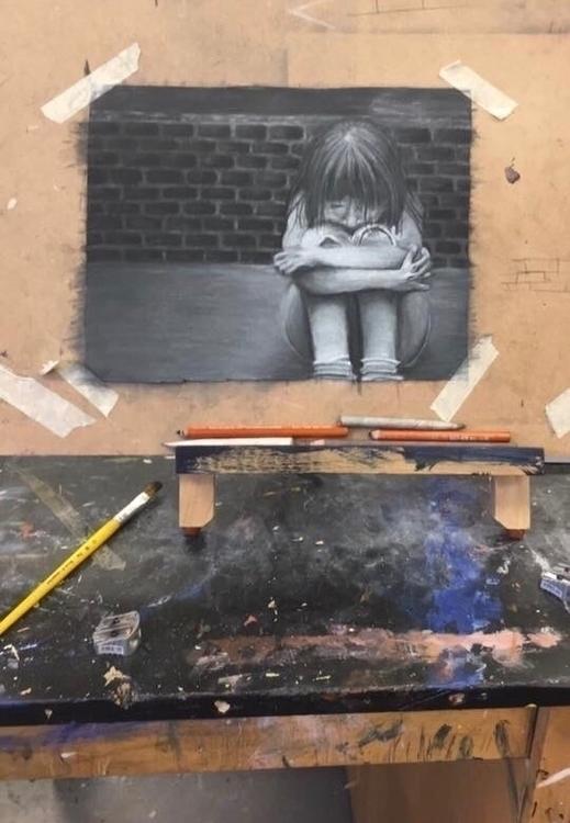 Lonely girl:pencil2:️🖤 - shelbyd3 | ello