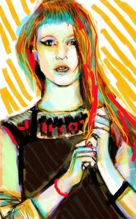 shock - hayleywilliams, popart, digital - andaelentari | ello