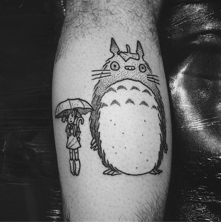 Tonari Totoro - tattoo, tattooing - jaimemaia | ello