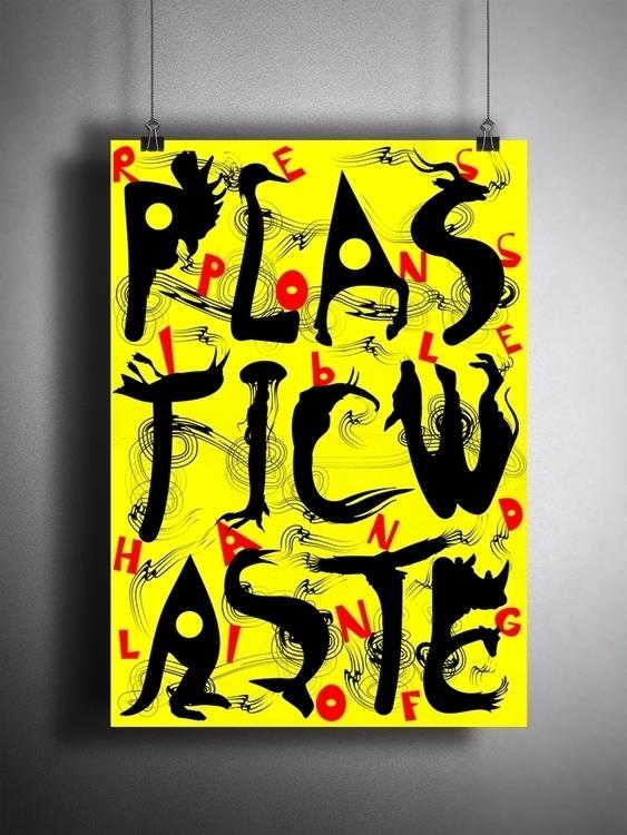 ↲ Category: Poster Plastic Wast - studiozanganeh | ello