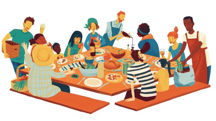 Splash image Social Dining app - hoshinorobin | ello