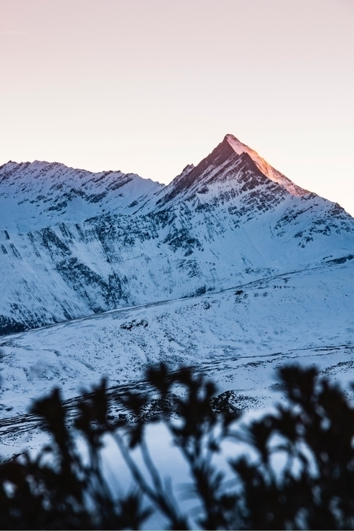 amazing sunset Swiss Alps - jeyhag | ello