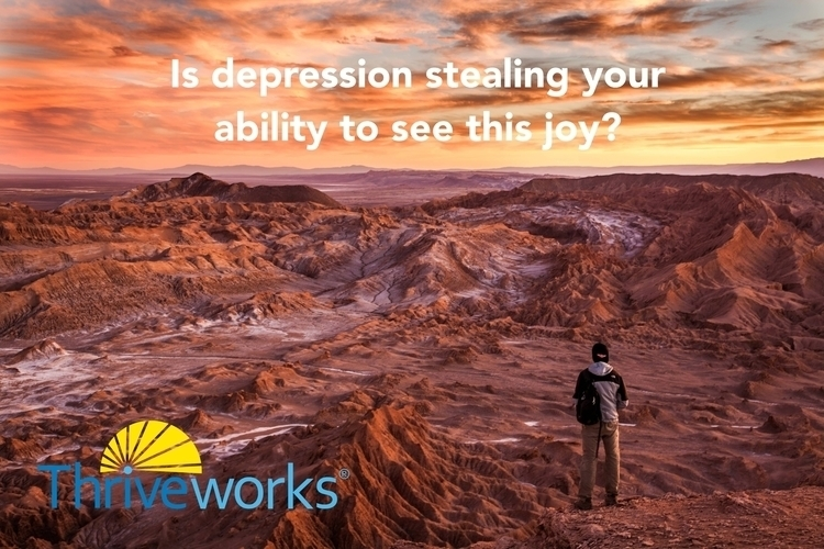 depression stealing ability joy - anthonycentore | ello