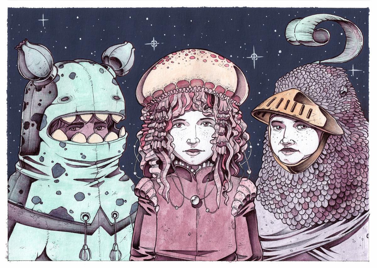 Unity Children future graphic S - kape_illustration | ello