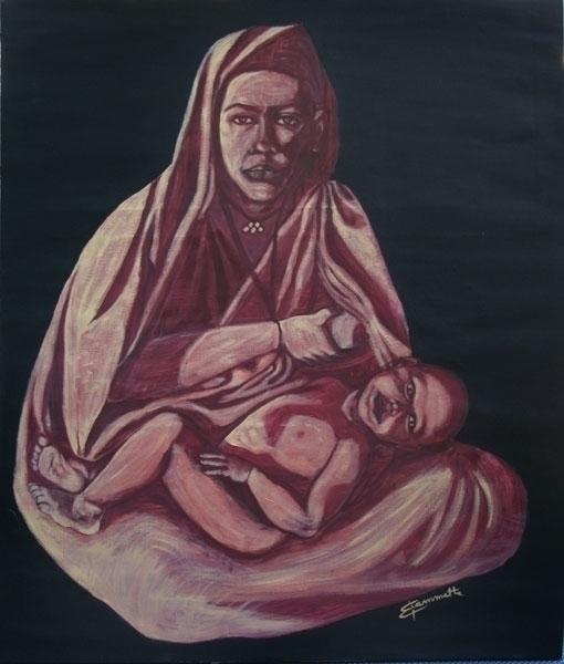 Sorgente, acrylic canvas 100x12 - tizianagiammetta | ello