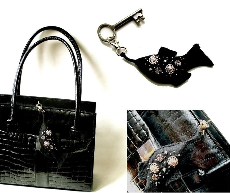 fish key fob works bags - accessories - bozena_wojtaszek | ello