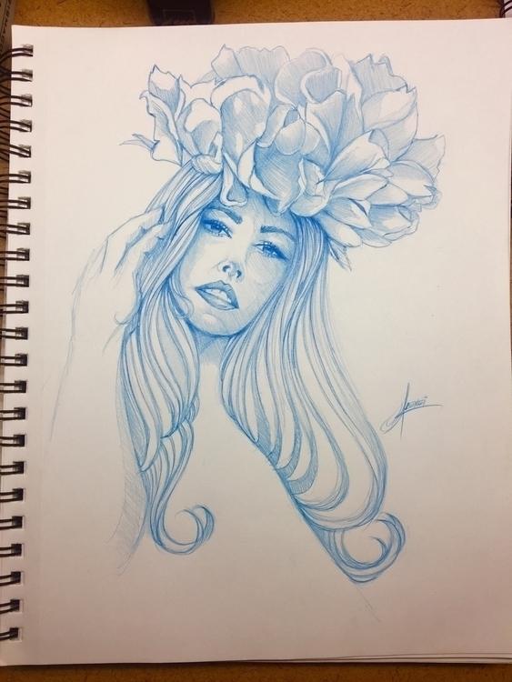 Sketchbook, drawing - alexei5000 | ello