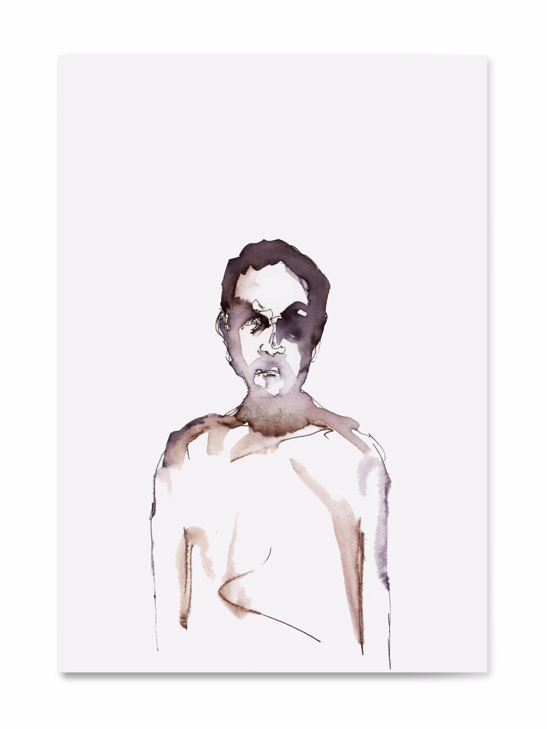Dreaming monochrome - sketch, postcard - 100realpeople   ello