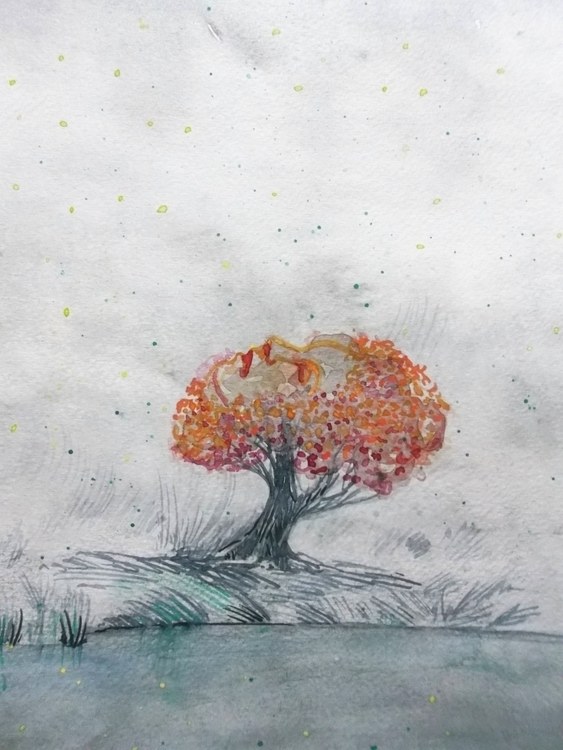 Arbre Watercolour - euric | ello