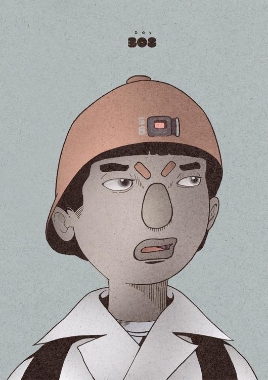 Day 308/365: Boy - illustration - 1sles | ello